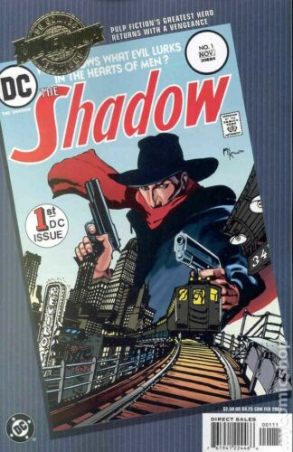 Millennium Edition The Shadow #1 VF 8.0 2001 Stock Image