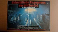 (D02) DDR-Kinoplakat UNHEIMLICHE BEGEGNUNG DER DRITTEN ART