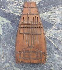 Good Old arte tribal africano Mbira Pulgar Kalimba instrumento musical no Tambor de piano