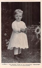 POSTCARD  ROYALTY   NETHERLANDS   HRH  Princess  Juliana