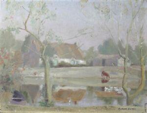 Florent-Sichet-1918-2014-Chaumiere-Landschaft-Vendee-Bretagne-Nantes