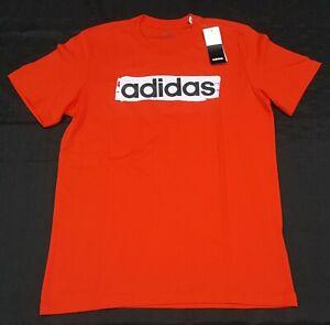 Fantastico smog Volgarità  Adidas Men's E Lin Brush T shirt Multi Sports (DV3053) Active Red-   eBay