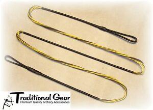"B50 56/""  60 AMO Recurve Bow String 18 strands Dacron Traditional"