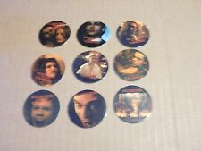POGS INTERVIEW WITH A VAMPIRE MOVIE COMPLETE  SET OF ALL 9 TOM CRUSE, BRAD PITT