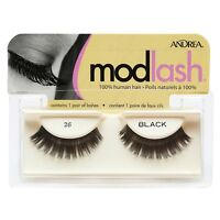 Andrea Modlash Strip Lash, Black [26] 1 Ea (pack Of 4)