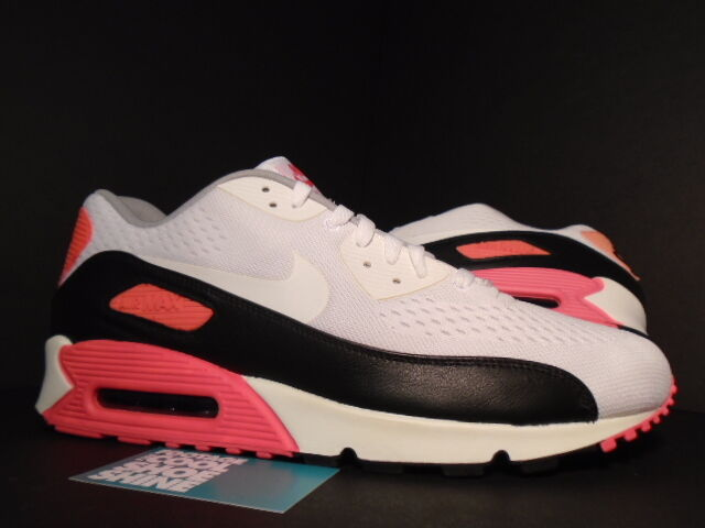 2012 Nike Air Max 90 EM ENGINEERED MESH WHITE BLACK INFRARED GREY 554719-110 13