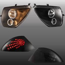 For 2000 2005 Mitsubishi Eclipse Led Headlights Amp Smoke Tail Lights 2 Pair Fits 2002 Mitsubishi Eclipse
