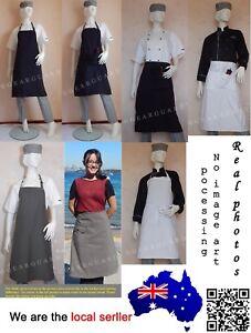 Quality-Apron-for-Chef-Cook-Waiter-Cafe-Bistro-Bar-etc-Optional-Logo-Service