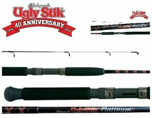 7/'6/'/' 2-5 kg 1 Piece Ugly Stik Gold Spin Fishing Rod