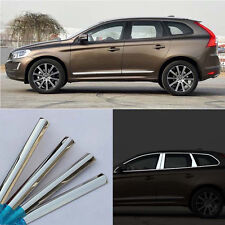 18pcs Stainless Steel Chrome Full Window Frame Sill Trim For Volvo XC60 2013-15