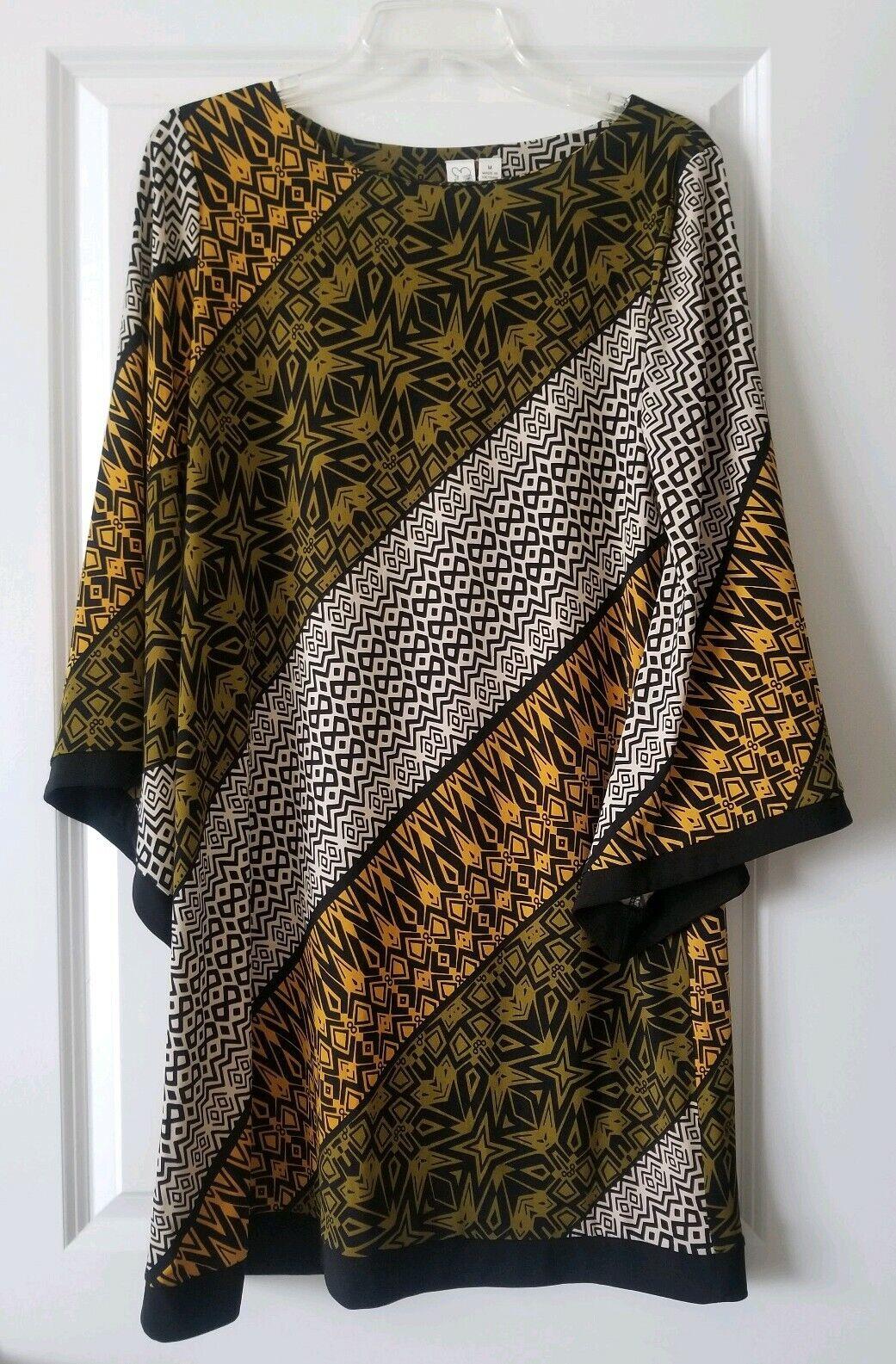 EM-42052-BlackMulti-M Floral Print Stretch Lace Dress Fabric
