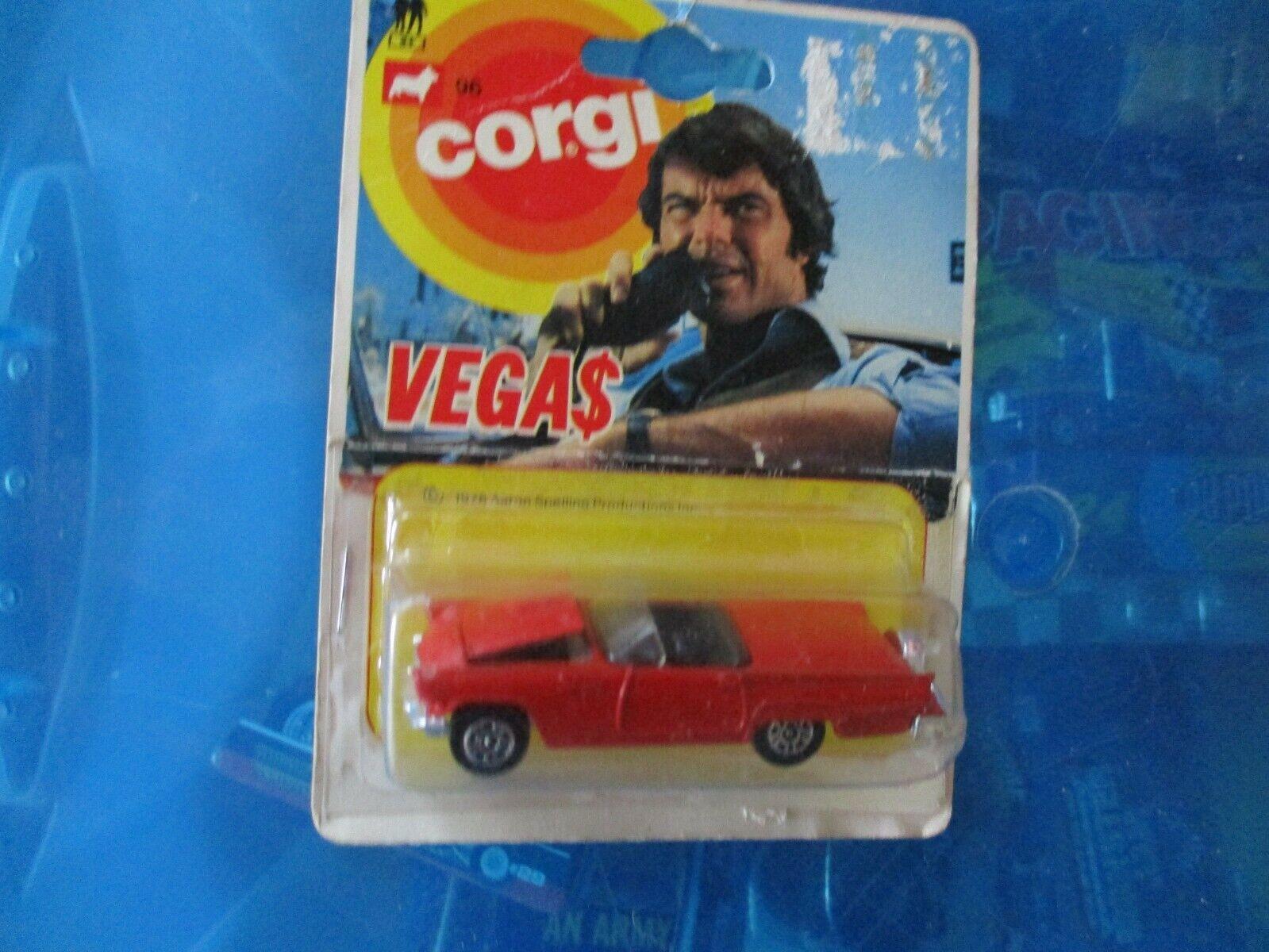 RARE- Corgi Vegas Movie Car 1 64th scale die cast - Made in Great Britain (1978)