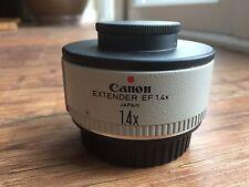 Canon EF 1.4 X Extender TELECONVER + Lowepro Lens Case in ottime condizioni