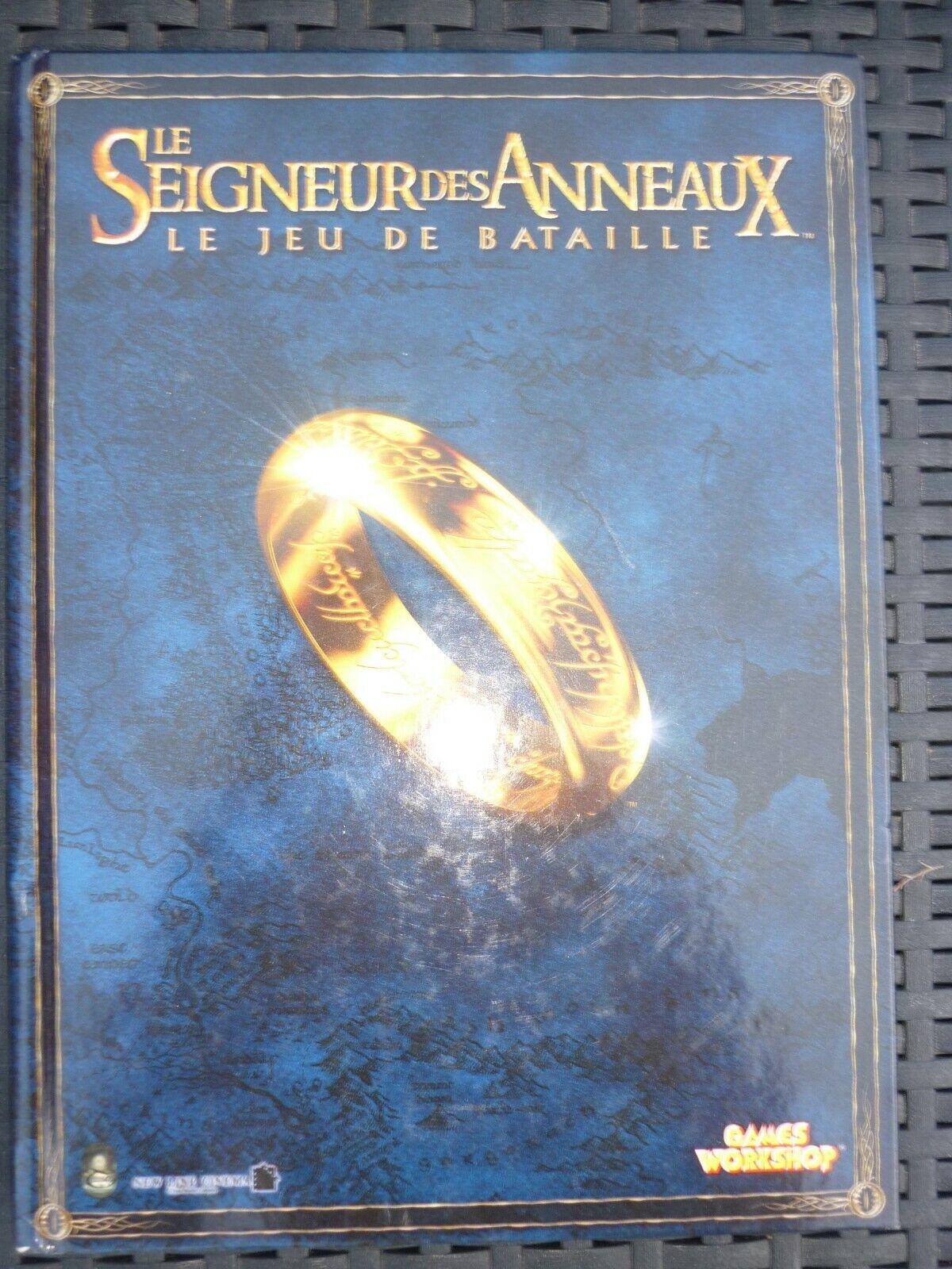 Le Seigneur des Anneaux, le jeu de bataille   Games Workshop, 2005  beaucoup de surprises