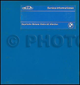 1982-1983-1984 BMW 528e 533i Repair Shop Manual Original in OEM Binder