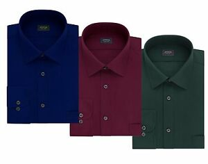 New-Arrow-Men-s-Classic-Fit-Spread-Collar-Dress-Shirt-Various-Colors-MSRP-40