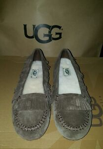 97af26e4556 Details about I heart ugg slippers shoes juniors girl size 4 Lily Model  1013574 chocolate