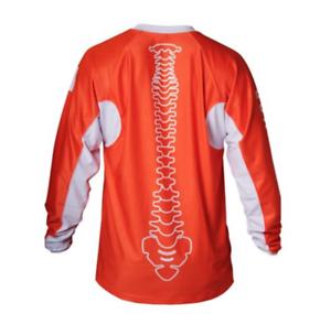 POC DH Jersey Size L large Spine Design orange