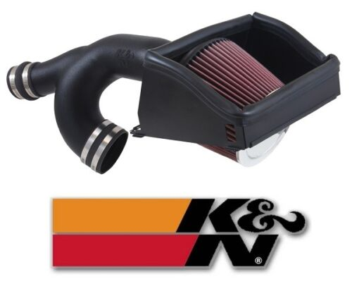 K&N 63 Series AirCharger Air Intake System for 2015-2016 Ford F150 3.5L V6 Turbo