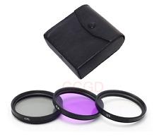 3pcs 67mm UV CPL FLD filter kit for Nikon D40 D60 D80 D90 D300 D600 D3100 D5100