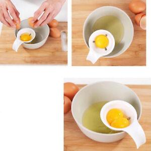 3Pcs Easy Use Egg Yolk White Separator Holder Divider Sieve Kitchen Tool W