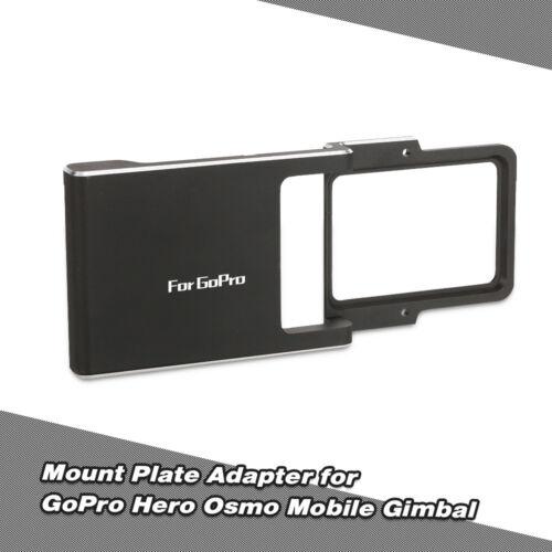 PGYTECH Mount Plate Adapter for GoPro Hero DJI Osmo Zhiyun Mobile Gimbal O7G4