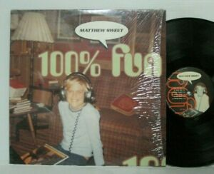 MATTHEW-SWEET-100-FUN-LP-1995-ORIG-BMG-GIRLFRIEND-WEEZER-SLOAN-VINYL-RECORD