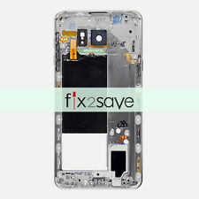 Black Camera Lens Mid Bezel Housing Middle Frame For Samsung Galaxy Note 5 N920