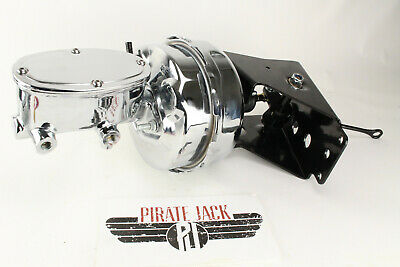 "1966-77 Ford Bronco 9/"" dual diaphragm power brake booster master cylinder"