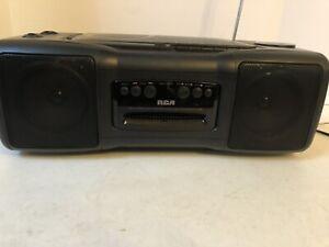 RCA CD Cassette Am/fm Stero, Cassette Recorder Disc Player Rp7935a