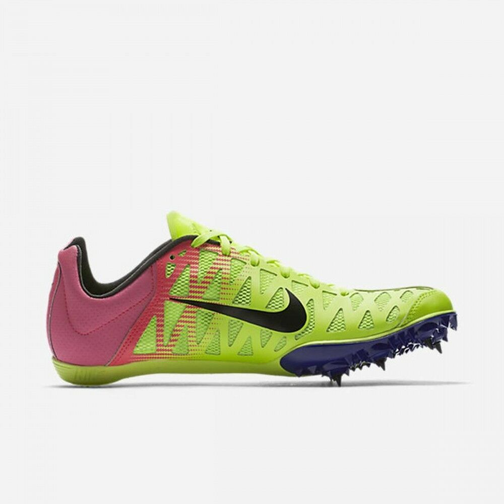 NEW Men Nike Zoom Maxcat 4 Spike Running Shoe Volt Pink Black 882012-999 Price reduction Casual wild
