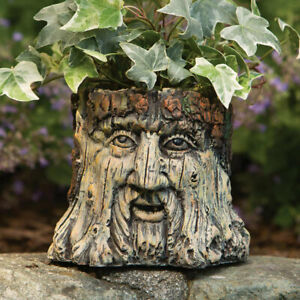 Forest-Magic-Old-Man-Wood-Tree-Face-Garden-Planter-Statue