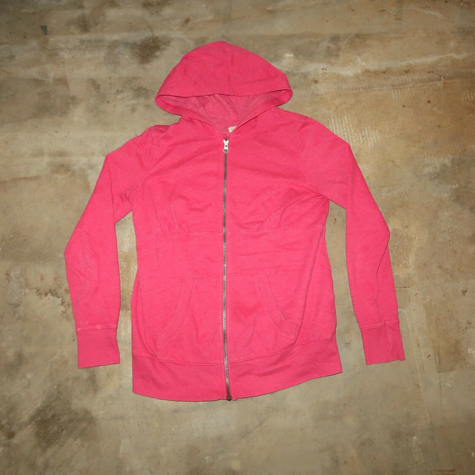Old Navy Womens XS Pink Full Zip Hooded Classic Basic Jacket