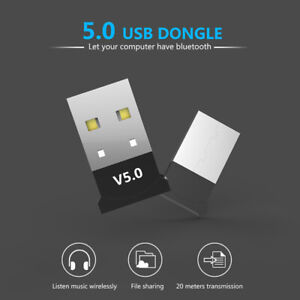 USB-Dongle-Adapter-For-Bluetooth-V5-0-PC-PS4-PS3-Xbox-One-Desktop-Computer-UK