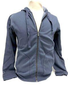 ed4635b2841 Ugg Australia Elliot Washed Men s Zip Up Hoodie Navy Blue Jacket ...
