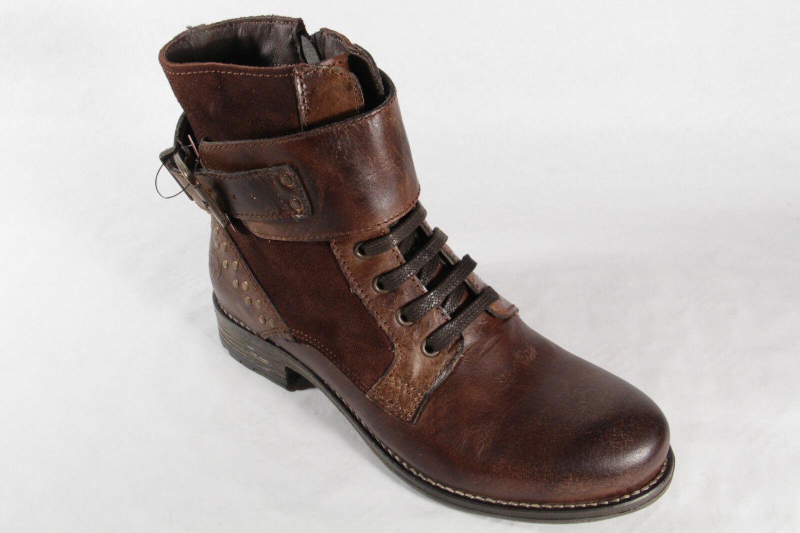 Marco Tozzi Damen Stiefeletten Schnürstiefel, Stiefel, Stiefel, Stiefel, RV, braun 25241 NEU 0507c7