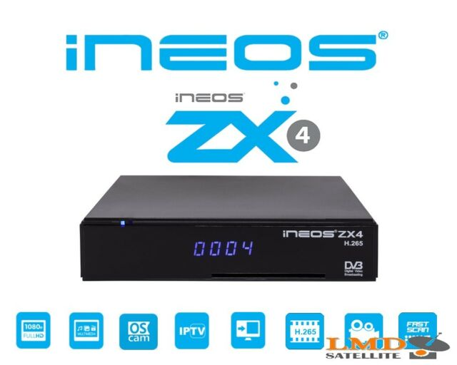 Linux Satellite & Iptv/ott Player InEos Zx4 HD H 265 HEVC Stalker TV Xtream  IPTV