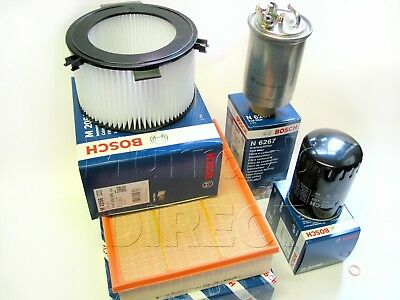 Sump Washer VW T4 Camper 1.9 TD 97-04 OEM BOSCH Service Kit Oil Air Fuel Filter