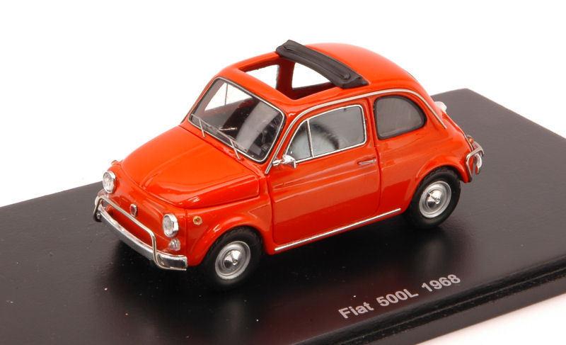 Fiat 500 L 1968 Orange 1 43 Spark S2693 Modellino