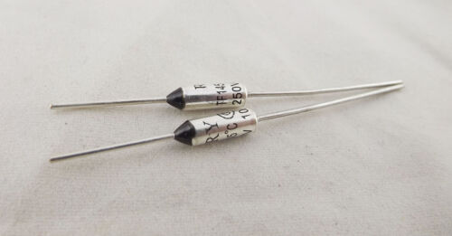 2pcs Microtemp Thermal Fuse 145°C 145 Degree TF Cutoff Cut-off 10A AC 250V