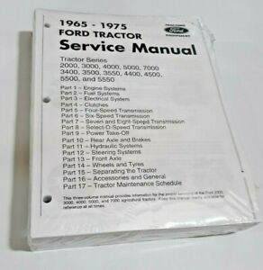 4400 Ford Tractor Technical Service Shop Repair Dealer Manual 913 PAGE BOOK