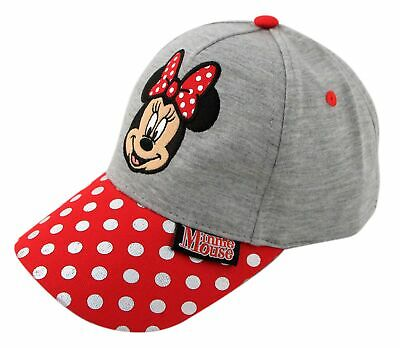 Intelligent Little Girls Disney Minnie Mouse Character Baseball Cap, Ages 4-7