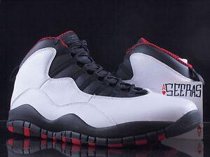 reputable site a846b 9b798 Image is loading Nike-Air-Jordan-10-X-Retro-Chicago-BULLS-