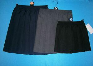 Plisada-Escuela-Falda-Gris-Negro-Azul-Marino-2-3-a-15-16y