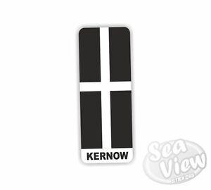 Sea View Stickers Devon Flag Car Van Sticker