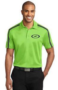 Storm Men's Furious Performance Polo Bowling Shirt Dri-Fit Lime