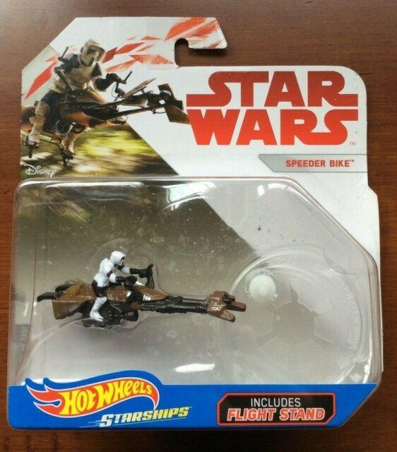 Kylo Ren's Tie Silencer - Star Wars Hot Wheels - Die Cast Starship - Brand New