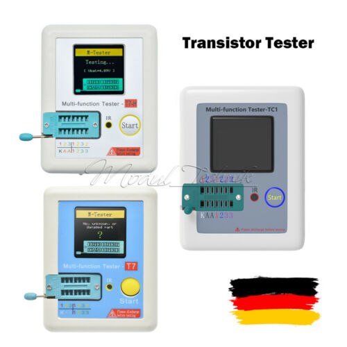 LCR-TC1 Transistor Tester LCR-T7 TC-T7-H TFT Diode Triode Capacitance Meter