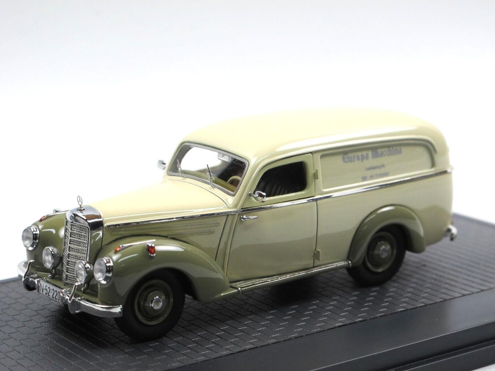 Matrix Scale Models - 1952 mercedes-benz 220 Autenrieth furgonetas 1 43