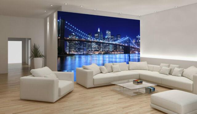 Photo Wallpaper mural Brooklyn Bridge  New York